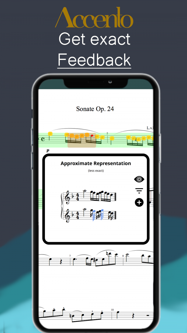 Accento · Music Assistant – Feedback Screenshot